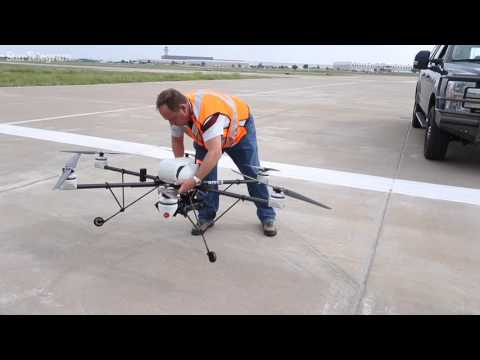 Drone detection technology at DFW Airport