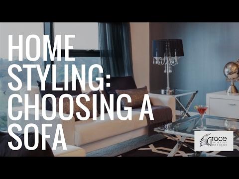 Interior Design - Choosing a Sofa