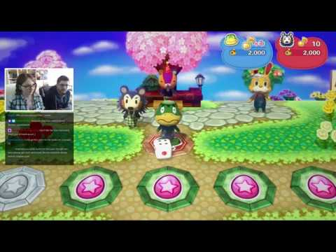 April Fools + Easter Stream - Animal Crossing New Leaf Welcome Amiibo