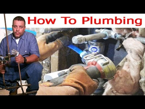 Creative Plumbing With Pex Pipe 👍👍👍