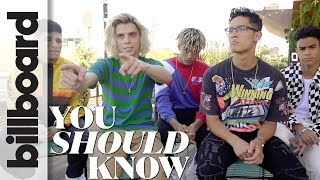Download 9 Things About PRETTYMUCH, Simon Cowell's New Boy Band, You Should Know! | Billboard Video