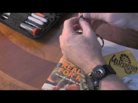 How To:  550 Cord Lanyard with barrel knot for Breacher Bar, Part 2