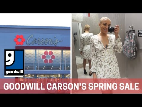 Goodwill Carson's Sale 2018: Donate & Shop Spring Trends! | PAIGE MARIAH