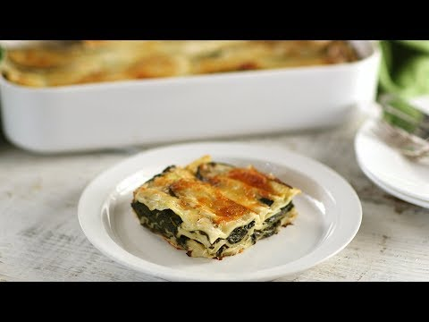 Spinach Lasagna- Everyday Food with Sarah Carey