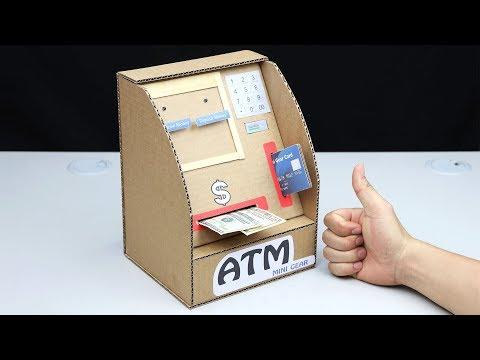 ATM Withdraw and Deposit Money Machine DIY
