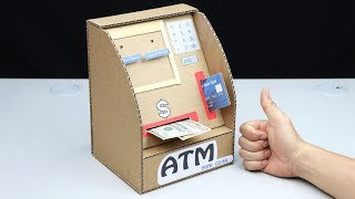 ATM Withdraw and Deposit Money Machine DIY