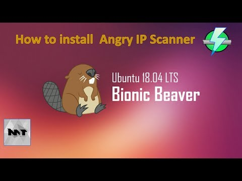How to install Angry IP Scanner 3.5.2 on Ubuntu 18.04
