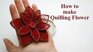 Quilling art easy flowers videos ytube quilling flowers tutorial how to make paper quilling flowers easy mightylinksfo