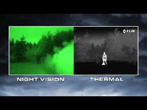 ‧ Night Vision vs. Thermal Imaging