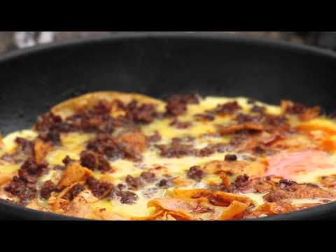 Easy Chorizo (Spicy Spanish Sausage) Omlette