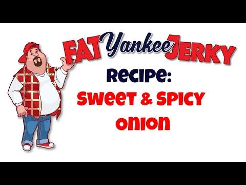 Sweet & Spicy Onion Beef Jerky Recipe