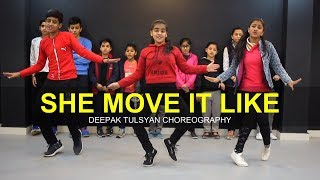 She Move It Like  Full Class Video  Deepak Tulsyan Dance Choreography  G M Dance
