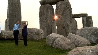 President Obama Visits Stonehenge