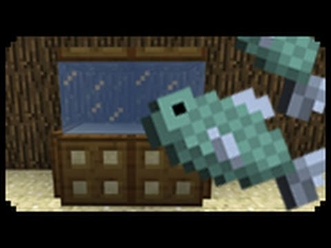 ✔ Minecraft: How to make a Fish Tank