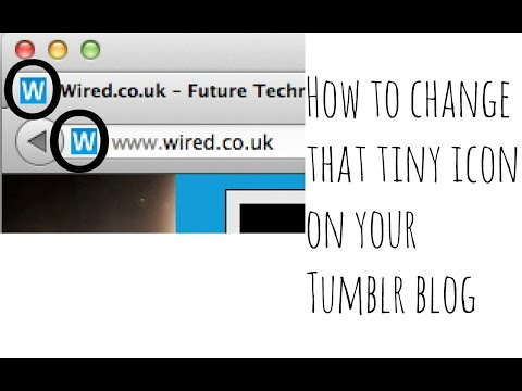 ❤️How to add a Favicon to your Tumblr!
