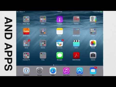 Become a Tech Savvy Senior using an iPad