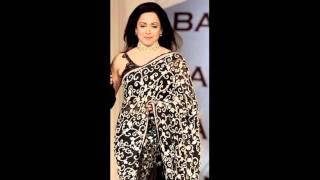 www.sareetimes.com-Hema Malini Saree Show