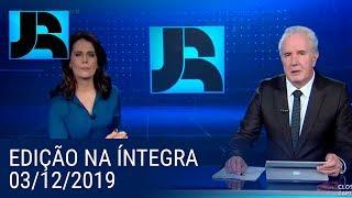 Jornal da Record | 03/12/2019