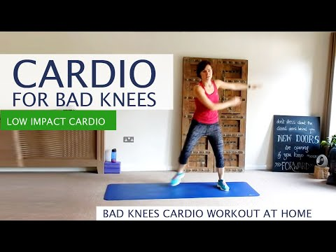 Cardio for bad knees | Total Body workout with Alicia - low impact