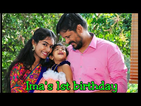 Ima's 1st Birthday vlog|Matching dress for mom and baby girl Asvi