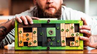 This CUSTOM Puzzle Box Has a HIDDEN Treasure!!