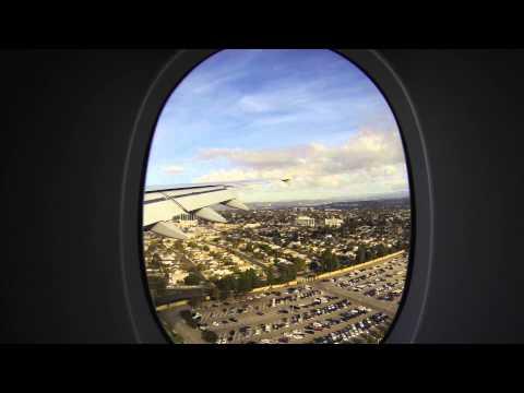 Melbourne to LA California