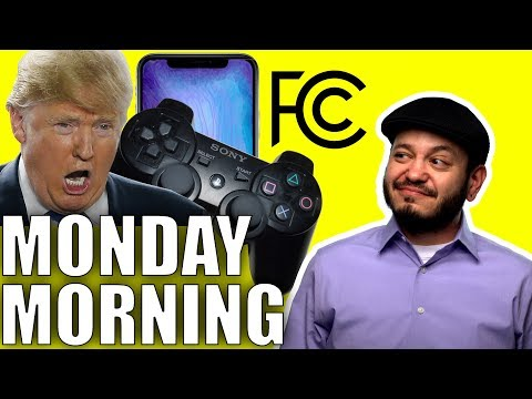 Net Neutrality Fights Back, Trump on Video Games, and California Right to Repair - Monday Tech Chat