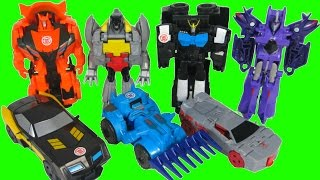 TRANSFORMERS ONE STEP CHANGERS ROBOTS IN DISGUISE WAVE 3 4 5 DRIFT THUNDERHOOF PATROL MODE STRONGARM
