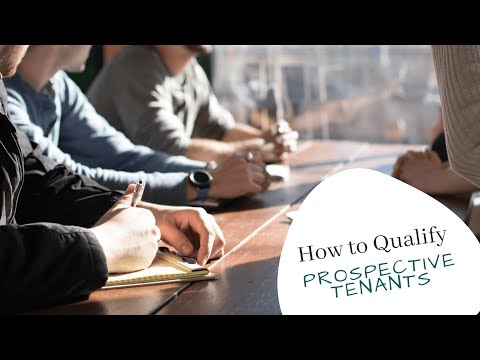 How to qualify a prospective tenant - by Los Gatos Property Management