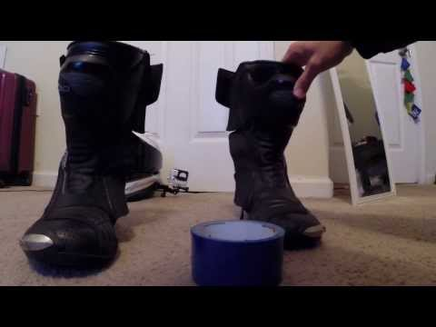 DIY: Windproof Your Perforated Motorcycle Boots