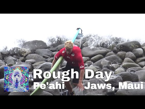 Rough Day Surfing at Pe'ahi, Jaws - Maui Dec. 13th 2017