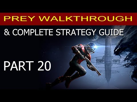 Prey Walkthrough Part 20 - How to Get Fabrication Plans: Q-Beam Cell (Ammo) & Weapon Upgrade Kit
