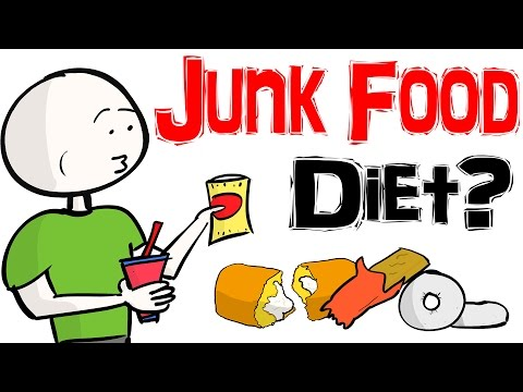 Eat Junk Food and Lose Weight! WHAT?!