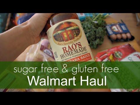 Gluten Free + Sugar Free Walmart Haul