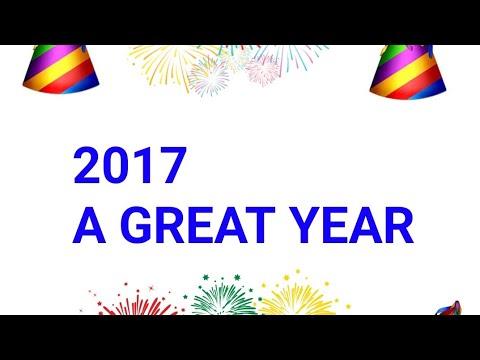 2017 - An Amazing Year