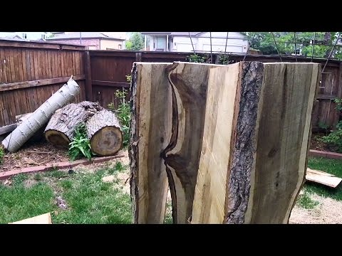How to Cut Lumber with a Chainsaw - Freehand (Without a Mill)
