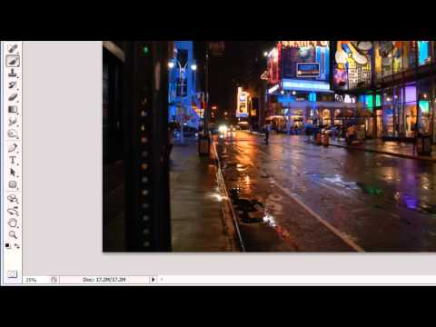 How to Create Sparkle Effect in Photoshop CS5