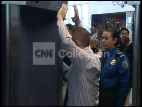 TSA NEW BODY SCANNERS