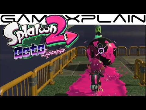Splatoon 2: Octo Expansion - Timed Platforming & Guiding a Ball Gameplay