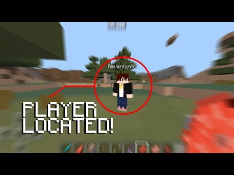 How to TRACK Players with Command blocks in Minecraft PE