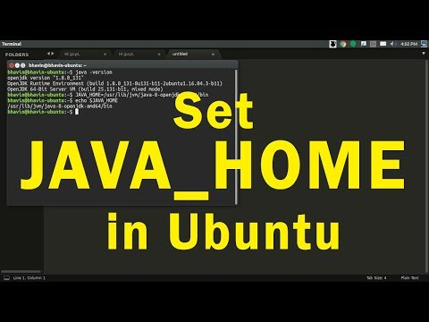 How to set JAVA_PATH & JAVA_HOME in Ubuntu or Linux