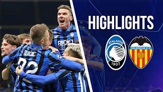 UCL Ro16 1st leg Atalanta-Valencia 4-1 | Highlights