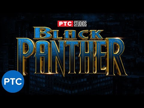 BLACK PANTHER Text Effect in Photoshop - How To Use Layer Styles Like a PRO