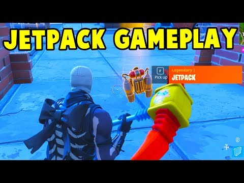 NEW JETPACK GAMEPLAY! *NEW* LEGENDARY JETPACK UPDATE GAMEPLAY || Fortnite Battle Royale!