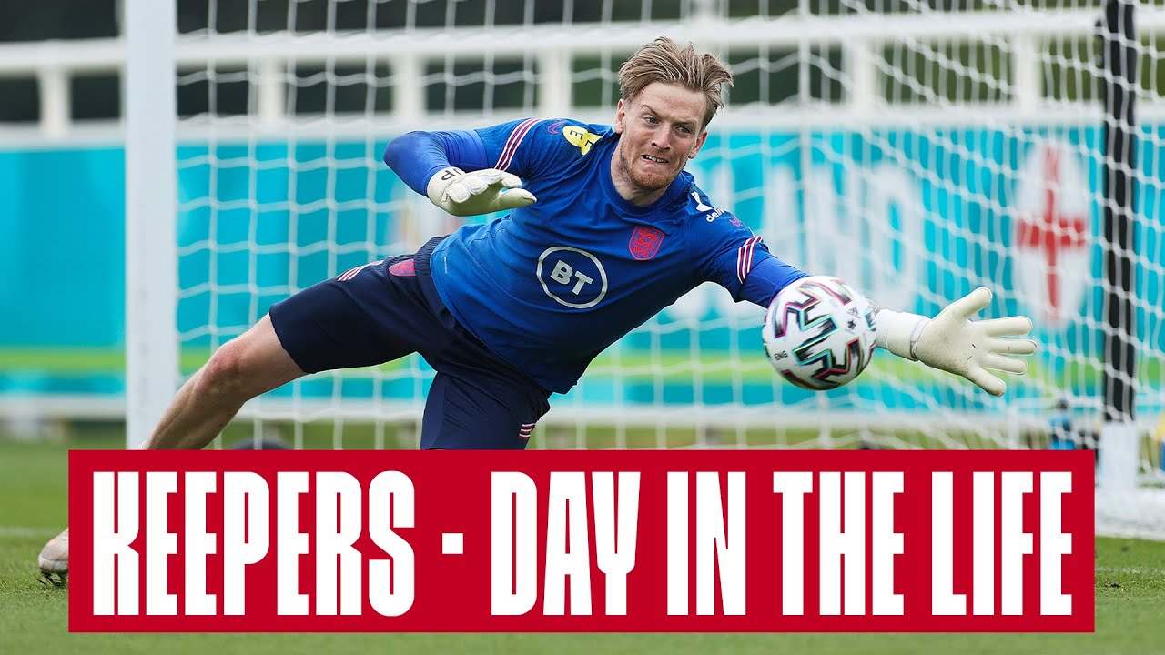 Day in the Life of an England Goalkeeper 🧤 Pickford, Johnstone & Henderson | Inside Access