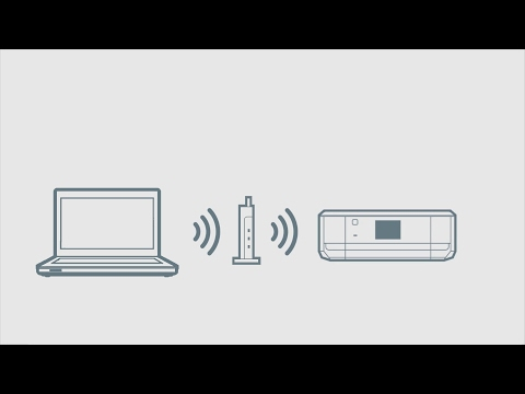 How to Connect a Printer and a Personal Computer Using Wi-Fi (Epson XP-640/645)  NPD5715