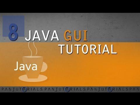 Java GUI Tutorial 8 - Custom Buttons GERMAN