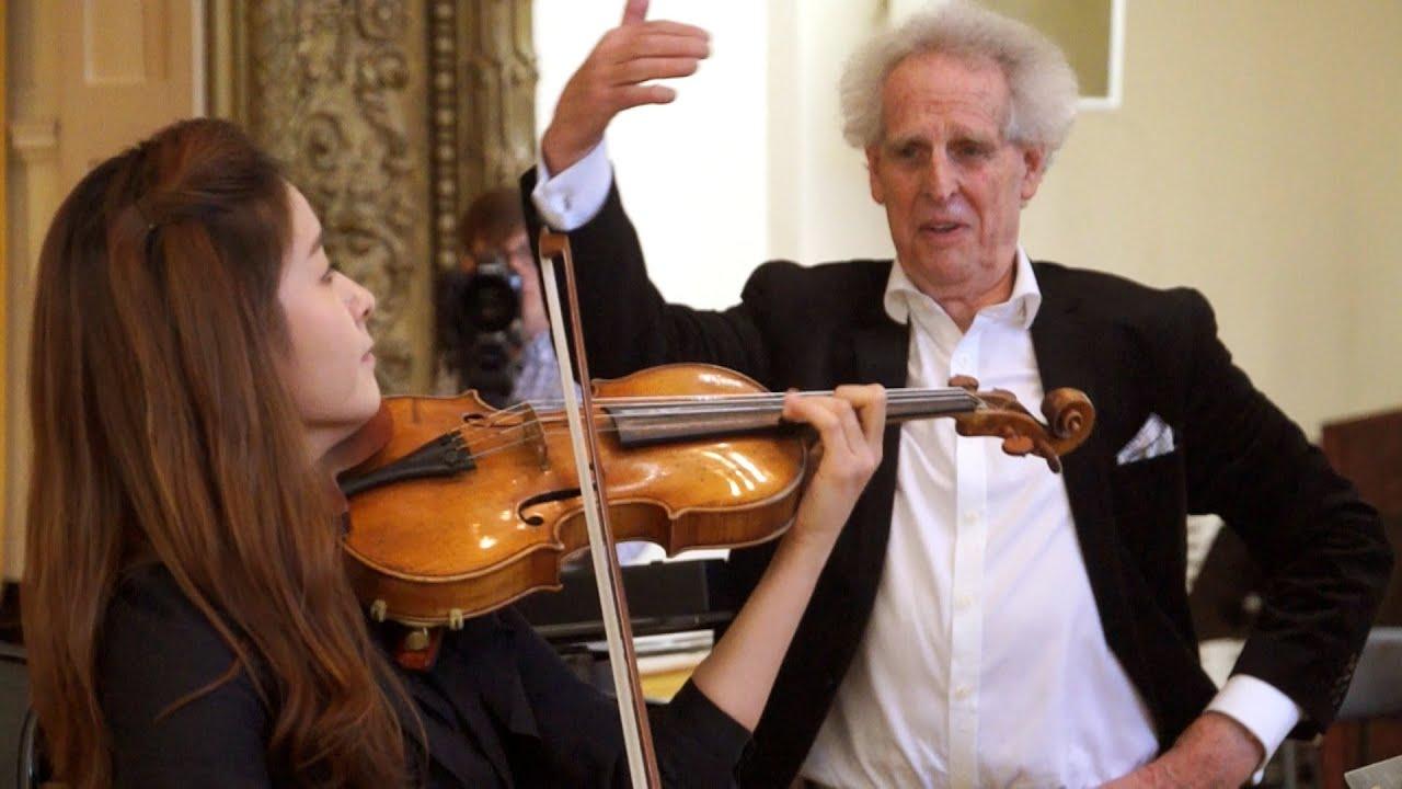 Mendelssohn: Violin Concerto - 1st movement (Benjamin Zander - Interpretation Class)