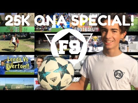 HOW DID I GET INTO A FOOTBALL ACADEMY?! 25K QnA Special - Answering your questions