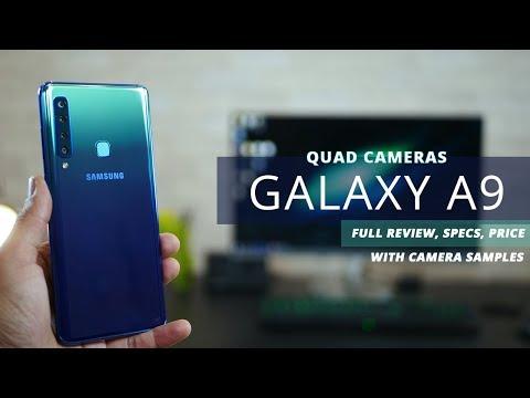 Samsung Galaxy A9 QUAD CAMERA - Review, Specs and Price (2018)